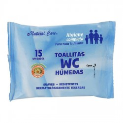 TOALLITAS WC 15 UDS NATURAL...