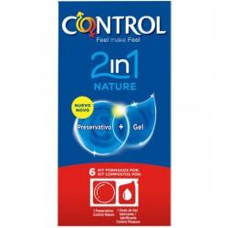 PRESERVATIVOS CONTROL 2IN1...